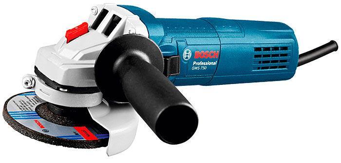Угловая шлифмашина Bosch Professional GWS 750 S (0601394121)