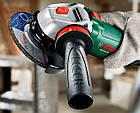 Угловая шлифмашина Bosch PWS 850-125 + чемодан (06033A2720), фото 4