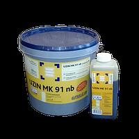 Двухкомпонентный полиуретановый клей для паркета Uzin MK 91 nb (Узин МК 91 нб) 11 кг