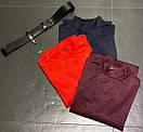 Платье под горло из креп дайвинга с напылением и поясом в комплекте, фото 2