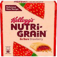 Батончики Kellogg's Nutri Grain Strawberry