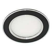 Светодиодная LED панель Feron AL527 5W (серебро,чёрный)