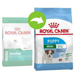 Сухий корм для цуценят Royal Canin (Роял Канін) MINI PUPPY від 2 до 10 місяців, 4 кг