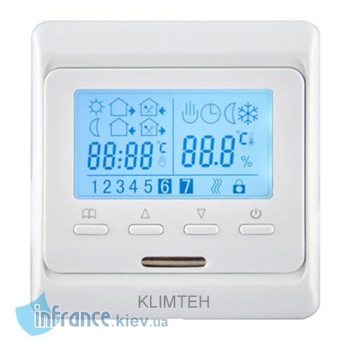 Терморегулятор программируемый для плёночного теплого пола Klimteh M6.716