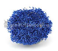 Тычинки для цветов тонкие, синие