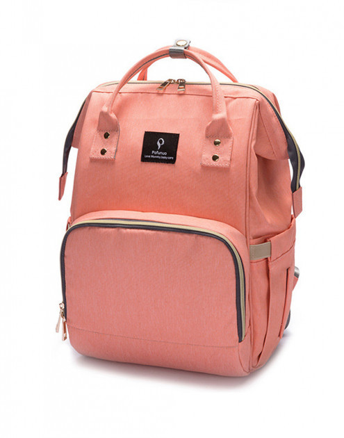 Сумка-рюкзак MomBag Aero мультифункциональный органайзер для мамы Розовый