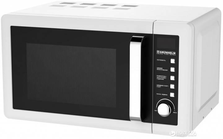 Микроволновая печь 800 Вт 20 л Grunhelm 20UX45-LW, фото 2