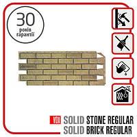 Цокольный сайдинг. Фасадная панель VOX Solid Brick EXETER 1,0х0,42 м