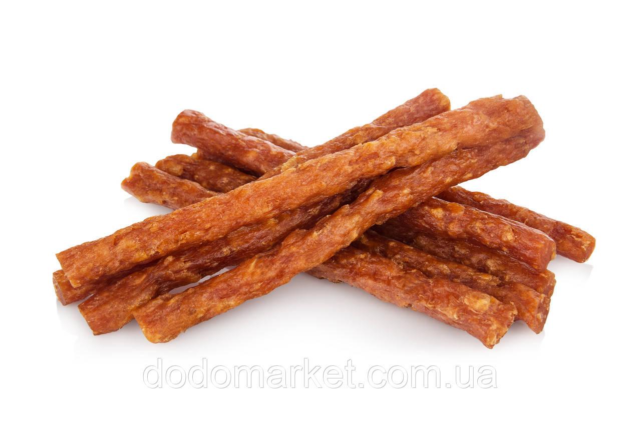 Утиная палочка с говяжьей кожей лакомство для собак Smaczaki 500 гр