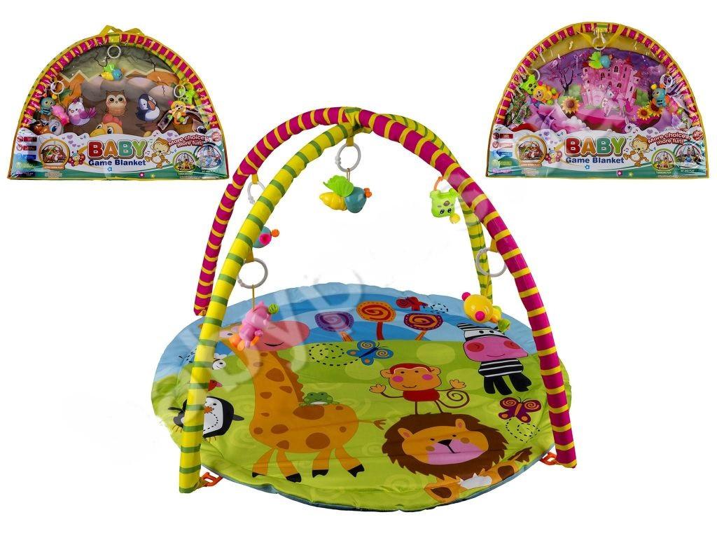 Детский коврик для малышей с дугами