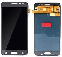 Дисплей (экран) Samsung J200F Galaxy J2 TFT (с регулируемой подсветкой)с тачскрином в сборе, черный