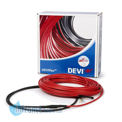 Двужильный нагревательный кабель DEVIflex 10T 25м (140F1408)
