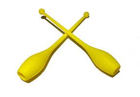 Булава для художньої гімнастики El Leon De Oro Deportiva Жовтий