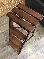 Деревянная стремянка - стул BROWN 4 ступени