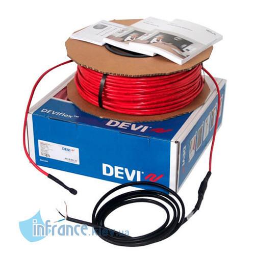 Двужильный нагревательный кабель DEVIflex 6T 100м (140F1207)