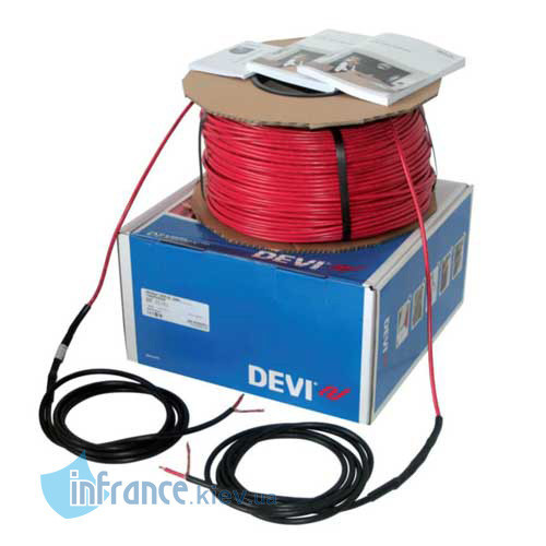 Одножильный нагревательный кабель DEVIbasic 20S 230В 14м (140F0215)