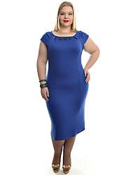 Женское платье батальных размеров