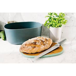 3950051 Хлібниця LEO, з обробною дошкою, 31,5 х 21,50 х 15 см, фото 2