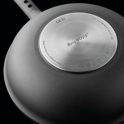 2307313 Сковорода глибока з антипригарним покриттям GEM, 24 см, 2,9 л, фото 2