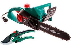 Цепная пила Bosch AKE 30 S + секатор (060083440S)