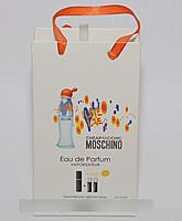 Мини парфюм женский 3*15 оптом Moschino Love Love Woman