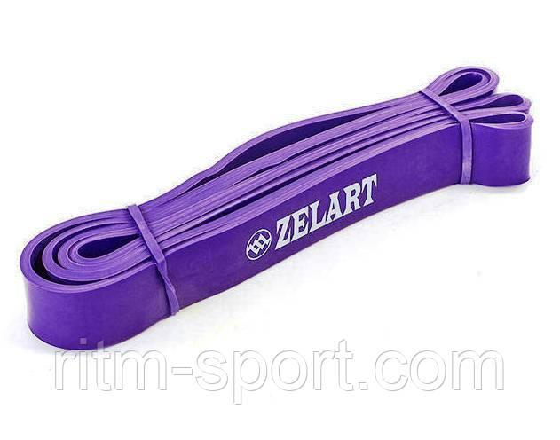 Резина для подтягиваний (лента сопротивления фиолетовая POWER BANDS M 15-45 кг)