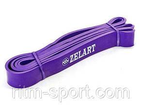 Резина для подтягиваний (лента сопротивления фиолетовая POWER BANDS M 15-45 кг), фото 2