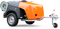 Каналопромывочный трейлер высокого давления с бензиновым двигателем ROM SmartTrailer