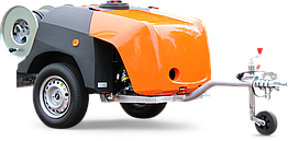Каналопромывочный трейлер високого тиску з бензиновим двигуном ROM SmartTrailer