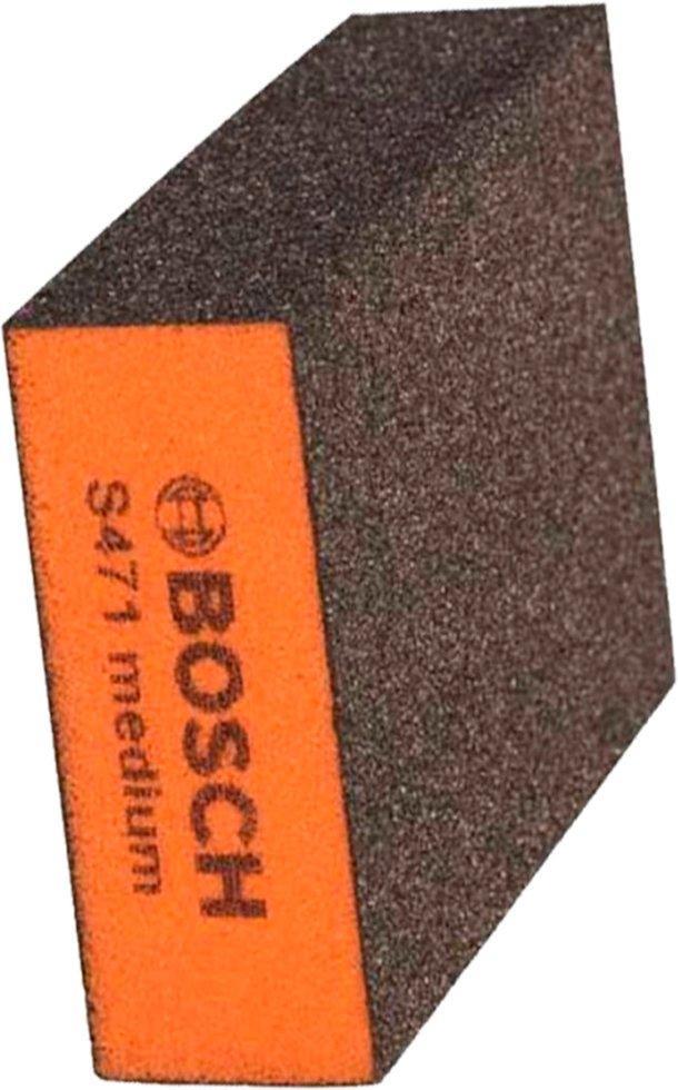 Шлифовальная губка Bosch Medium Best for Flat and Edge 69x97x26 мм (2608608225)