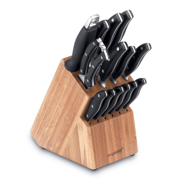 1307144 Набір ножів у колоді, 15 пр. +  БЕСПЛАТНАЯ ДОСТАВКА