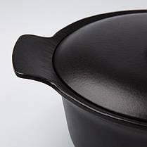 3900039 Каструля з чавуну RON 28 см, овальна з кришкою, 5 л +  БЕСПЛАТНАЯ ДОСТАВКА, фото 3