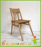 Стілець раковець / стул деревянный ручной работы БУК