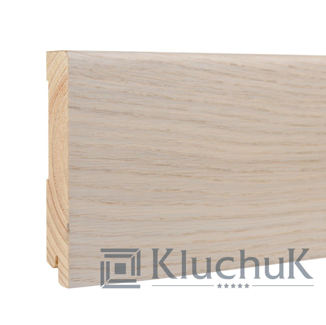 Плинтус Kluchuk Neo Plinth KLN120-07 Дуб Серебрянный 120мм
