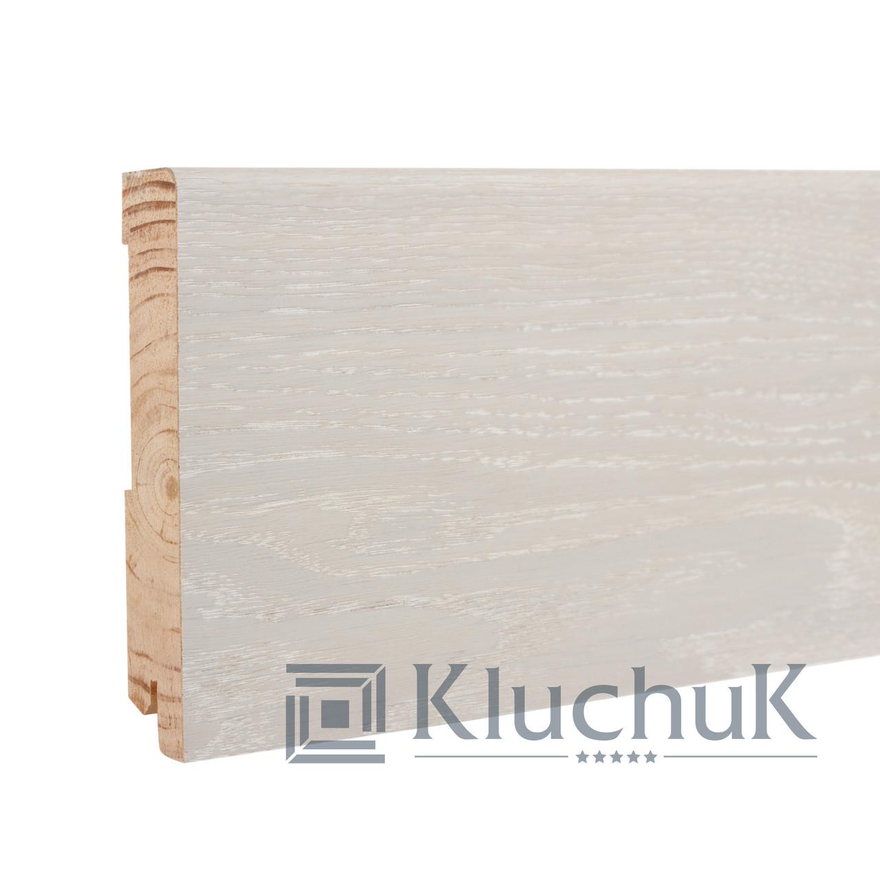 Плинтус Kluchuk Neo Plinth KLN120-05 Дуб Ледяной 120мм