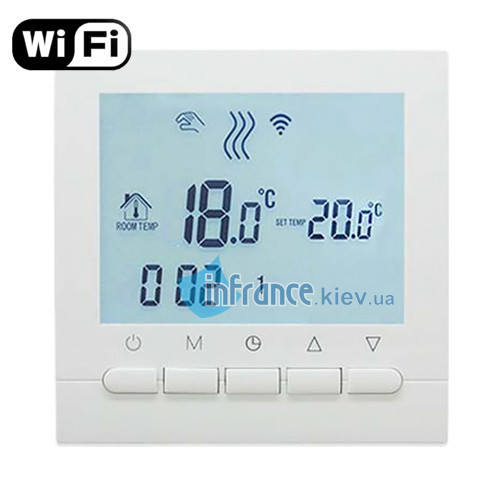Терморегулятор программируемый Klimteh BHT-313 WiFi