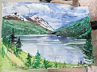 """Картина """"Горное озеро"""", фото 1"""