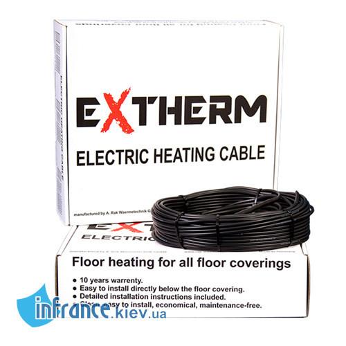 Двожильний нагрівальний кабель EXTHERM ЄТС ECO 20-300