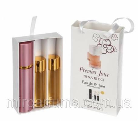 Жіночі парфуми в сумочці 3*15мл Nina Ricci Premier Jour, фото 2