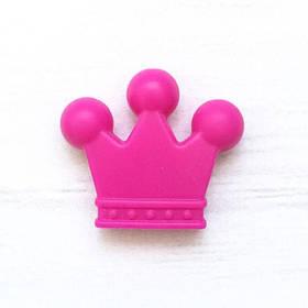Корона (малина) бусина из пищевого силикона