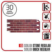 Цокольний сайдинг. Фасадна панель VOX Solid Brick DORSET 1,0х0,42 м
