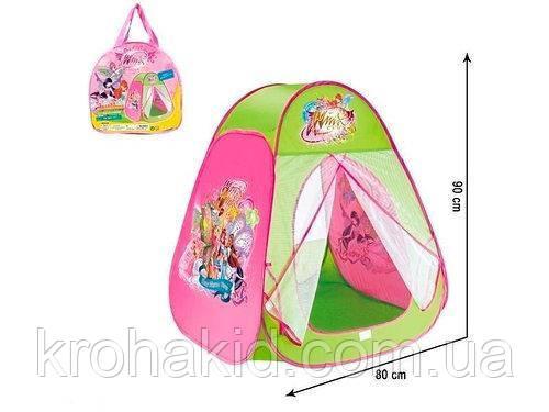 Палатка детская Винкс 815S, рамером 80х90х80 см, в сумке