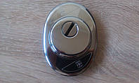 Броненакладка врезная Mottura 9411925 CR хром