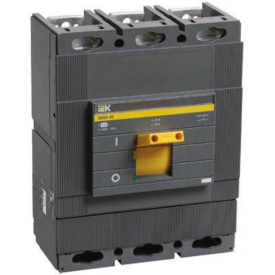 Силовой автоматический выключатель IEK ВА88-40 500А