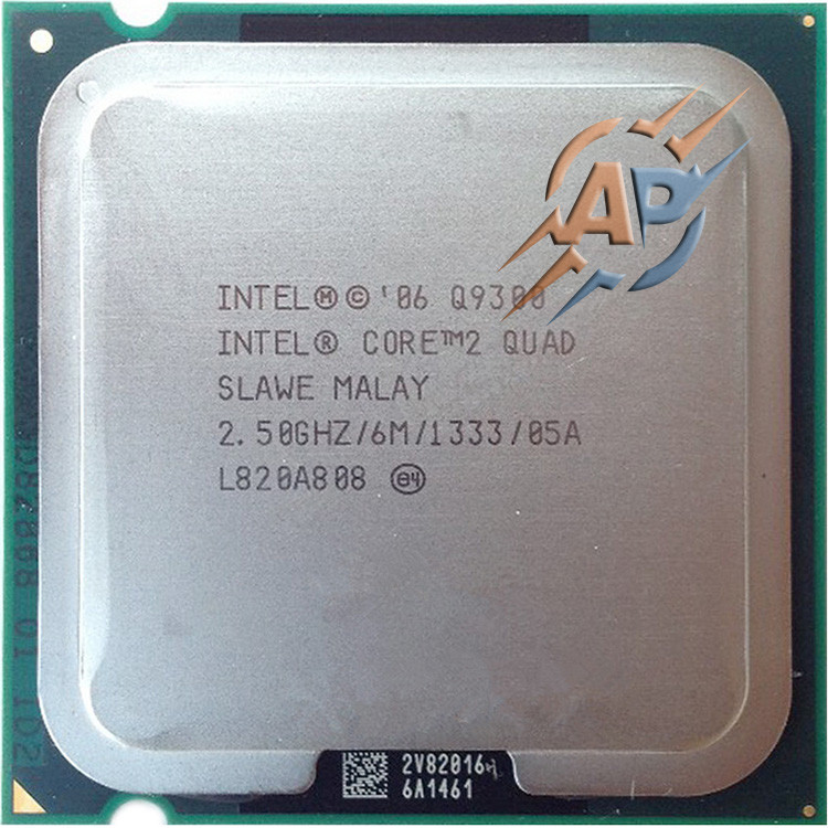Процесор Intel Core 2 Quad Q9300 2.5GHz/ 1333MHz/ 6144Kb Socket 775