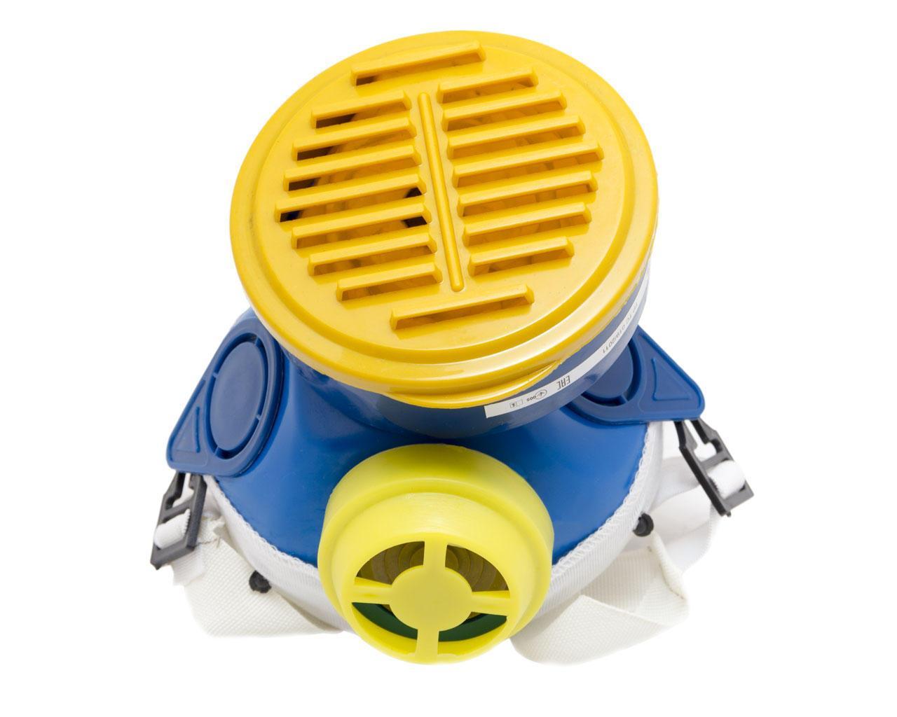 Респиратор Пульс-М с 1 фильтром (фильтр флизелин)