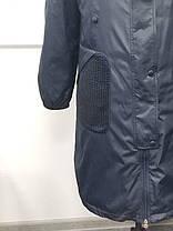 Весенний  плащ  с накладными карманами Большой размер от 54 до 72, фото 2