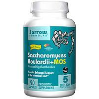 Jarrow Formulas, Сахаромицеты Буларди + MOS, 90 овощных капсул