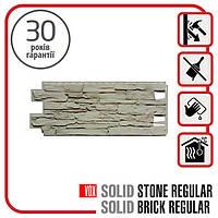 Цокольный сайдинг. Фасадная панель VOX Solid Stone LAZIO 1,0х0,42 м