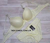 Комплект  женского белья FNISS   85С шампань арт 15530.